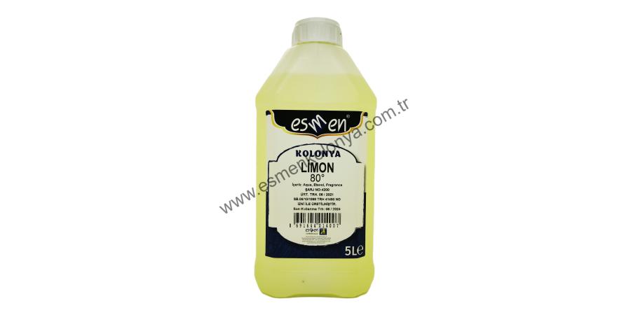 Limon Kolonyası 5 Lt
